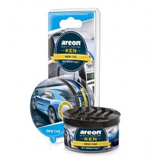 Автомобильный ароматизатор AREON KEN BLISTER 704-AKB-11, New car, Новая машина
