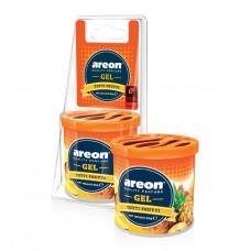 Автомобильный ароматизатор AREON GEL CAN BLISTER GCB08 (704-GCB-08), Tutti frutti, Тути фрути