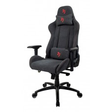 Компьютерное кресло (для геймеров) Arozzi Verona Signature Soft Fabric - Red Logo