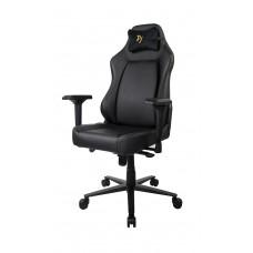 Компьютерное кресло (для геймеров) Arozzi Primo PU - Black - Gold logo