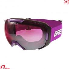 Горнолыжная маска Brenda FARO shiny purple-pink silver