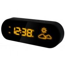 Настольные часы-метеостанция BVItech BV-42YKH (желтые цифры)