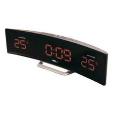 Настольные часы-метеостанция BVItech BV-415 YKS (оранжевые цифры)