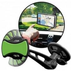 Автомобильный держатель липучка для смартфона Clingo car phone mount 07000, зеленый