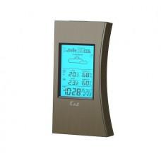 Ea2 ED608 Погодная станция, прогноз погоды, измерение комнатной и наружной температуры и влажности