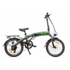 Велогибрид Eltreco LETO, матово-черный
