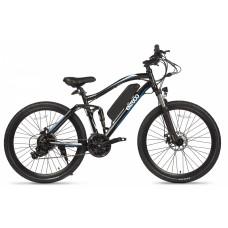 Велогибрид Eltreco FS 900, сине-черный