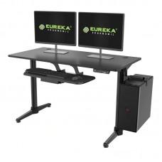 Стол для для компьютера c электрической регулировкой по высоте Eureka EHD-I1, чёрный