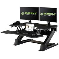 Подставка на компьютерный стол для работы стоя Eureka CV-PRO36B, чёрный