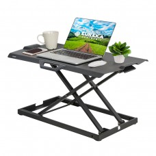 Подставка на компьютерный стол для работы стоя Eureka ERK-PCV-US, чёрный