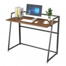 Складной письменный стол (для компьютера) EUREKA ERK-FD-02C с шириной 104 см, Cherry
