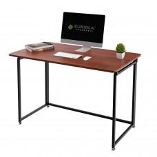 Складной письменный стол (для компьютера) EUREKAERK-FT-43T с шириной 109 см, Teak