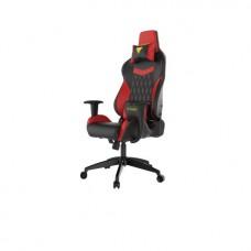 Кресло компьютерное GAMDIAS HERCULES E2-BR, черно-красное