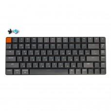 Беспроводная механическая ультратонкая клавиатура Keychron K3, 84 клавиши, RGB подстветка, Blue Switch