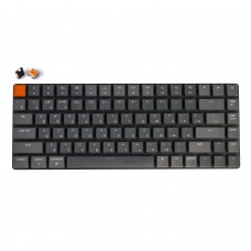 Беспроводная механическая ультратонкая клавиатура Keychron K3, 84 клавиши, RGB подстветка, Orange Switch