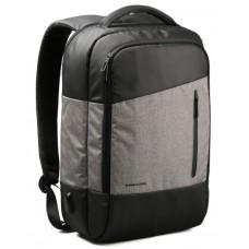 Рюкзак KINGSONS KS3159W, черно-серый