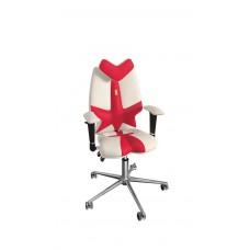 Кресло детское эргономичное Kulik FLY (1301) white/red