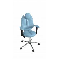 Кресло детское эргономичное Kulik TRIO (1404) light blue