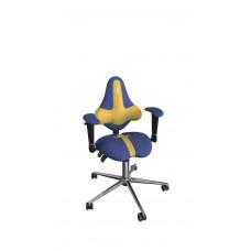 Кресло детское эргономичное Kulik KIDS (1501) blue/yellow