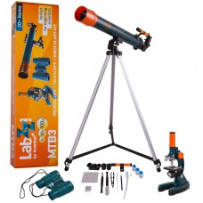 Набор Levenhuk LabZZ MTВ3: микроскоп, телескоп и бинокль 69698
