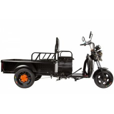 Грузовой электрический трицикл RuTrike D1 1200 60V 900W, темно-серый