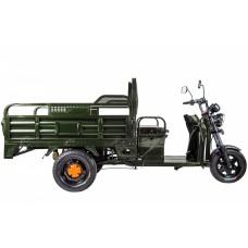 Грузовой электрический трицикл RuTrike D4 1800 60V 1200W, зеленый