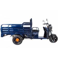 Грузовой электрический трицикл RuTrike D4 1800 60V 1200W, синий