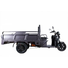 Грузовой электрический трицикл RuTrike D4 1800 60V 1200W, темно-серый