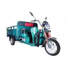 Грузовой электрический трицикл Rutrike Алтай 2000 60V1500W, синий