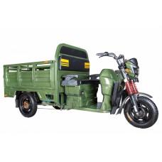 Грузовой электрический трицикл Rutrike Антей-У 1500 60V1000W, зеленый