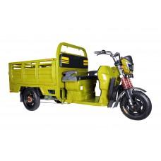 Грузовой электрический трицикл Rutrike Антей-У 1500 60V1000W, желтый