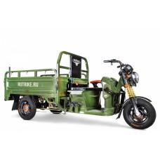 Грузовой электрический трицикл Rutrike Гибрид 1500 60V1000W, зеленый