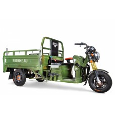Грузовой электрический трицикл Rutrike Гибрид 1500 60V1000W, синий