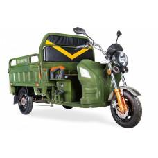 Грузовой электрический трицикл Rutrike Дукат 1500 60V1000W, зеленый