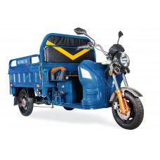 Грузовой электрический трицикл Rutrike Дукат 1500 60V1000W, синий