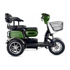 Электротрицикл RuTrike S2 V3, зеленый