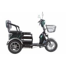 Электротрицикл RuTrike S2 V2 трансформер, зеленый