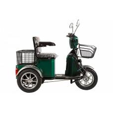 Электротрицикл RuTrike S1 V2, зеленый