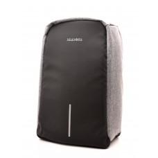 Рюкзак для ноутбука 15,6 дюйма SEASONS антивандальный MSP3010, серый