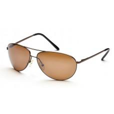 Очки для водителей SP Glasses AS007_Brown, коричневый
