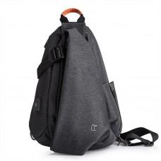 Плечевая сумка TANGCOOL TC901, темно-серый