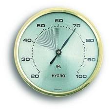 Аналоговый гигрометр TFA 44.1001 с латунным кольцом