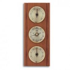 Аналоговая метеостанция TFA 20.1002.01, деревянная