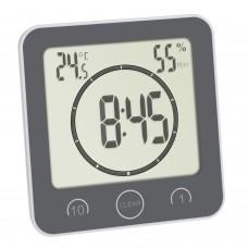 Часы для ванной, кухни с таймером TFA 60.4001.10