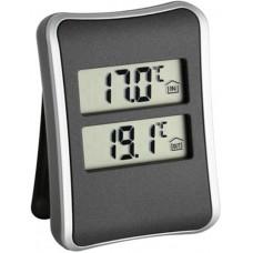 Цифровой термометр TFA 30.1044 с внешним проводным датчиком