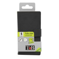 Универсальный чехол для смартфона для смартфона с диагональю 4 дюймов T'nB FOLSLBKS, цвет черный