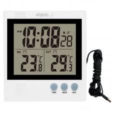 Электронный уличный термометр Uniel UTT-91 с выносным проводом